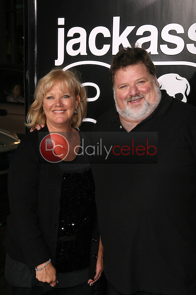 April and Phil Margera<br /> at the premiere of &quot;Jackass 3D,&quot; Chinese Theater, Hollywood, CA. 10-13-10<br /> Dave Edwards/DailyCeleb.com 818-249-4998