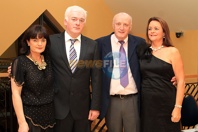 Retirement Party for Garda Pius McSweeney and Garda Liam Galavan in the Thatch pictured here with their wives Geraldine ad Nancy....(Photo credit should read Jenny Matthews www.newsfile.ie)....