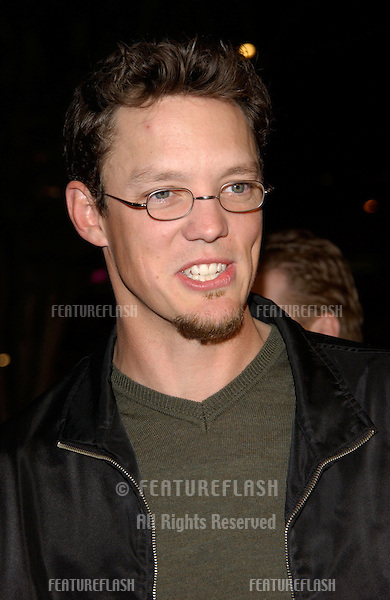 Actor MATTHEW LILLARD at the Los Angeles premiere of Dragonfly..18FEB2002. © Paul Smith/Featureflash