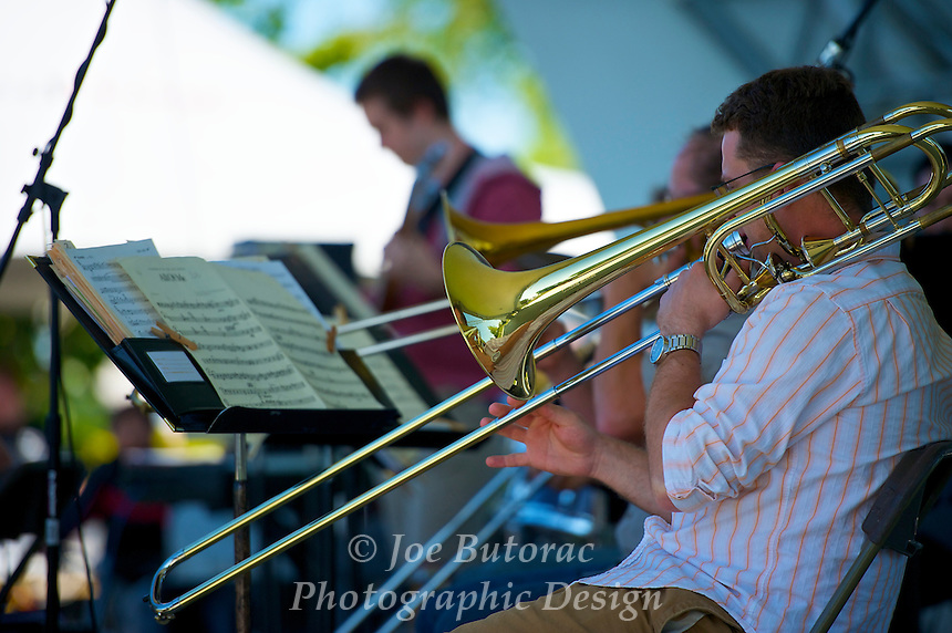 The Other Big Band, Langley Jazz Festival Douglas Park Langley B.C. June 5 2010