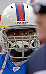 3 December 2006: Buffalo Bills center Melvin Fowler arrives on the field prior to a game against the San Diego Chargers at Ralph Wilson Stadium in Orchard Park, New York. The Charges defeated the Bills 24-21. Mandatory Photo Credit: Ed Wolfstein Photo<br />