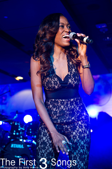 Greta Prince performs during the 2014 Essence Festival at the Mercedes-Benz Superdome in New Orleans, Louisiana.