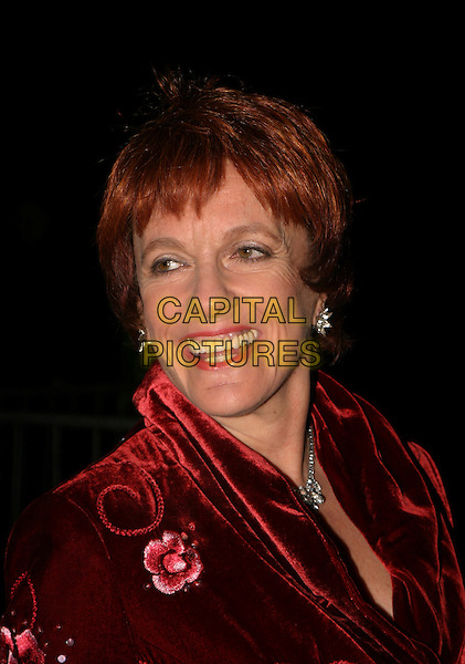 ESTHER RANTZEN.Cirque Du Soleil: Alegria - press night at the Royal Albert Hall, London, UK..January 5th, 2006.Ref: AH.headshot portrait.www.capitalpictures.com.sales@capitalpictures.com.©Capital Pictures