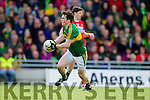 Paul Murphy Kerry in action against  Cork in the National Football league in Austin Stack Park, Tralee on Sunday.