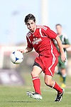 January 11, 2013: John Stertzer (Maryland). Day 1 of the Combine. The 2013 adidas MLS Player Combine was held January 11-15, 2013 at Central Broward Regional Park in Lauderhill, Florida.