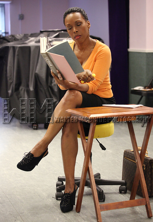 Brenda Braxton.performing at the Special Presentation of Donna Moore's .'Cougar The Musical' at Ripley-Grier Studios in New York City on 7/26/2012