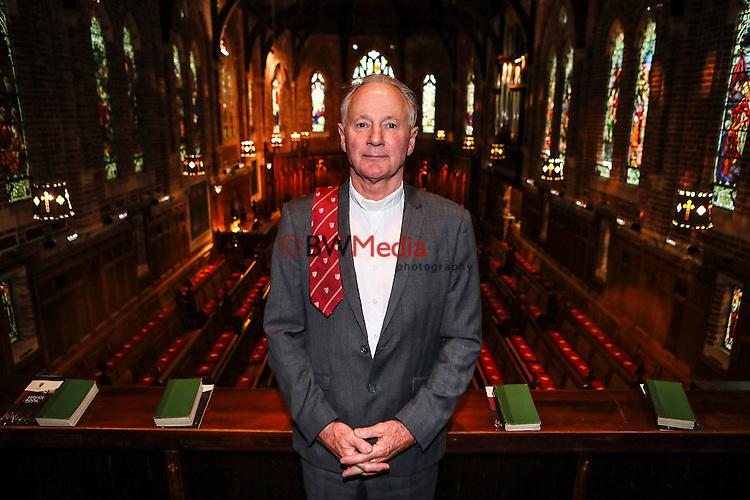 Rev Warner Wilder, Honors Tie. 25 October 2016. Photo: Simon Watts/www.bwmedia.co.nz for Kings College