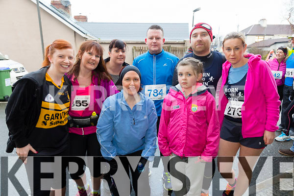 Participating in the  Kerins O'Rahillys 10k run Emma Cillane, Leah Lynch , Fiona O Conner, Mags O Conner, Lorraine Lynch, Tommy Leahy, Brian O Shea, Ann Kelleher on sunday