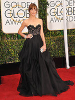 Frances O'Connor at the 72nd Annual Golden Globe Awards at the Beverly Hilton Hotel, Beverly Hills.<br /> January 11, 2015  Beverly Hills, CA<br /> Picture: Paul Smith / Featureflash