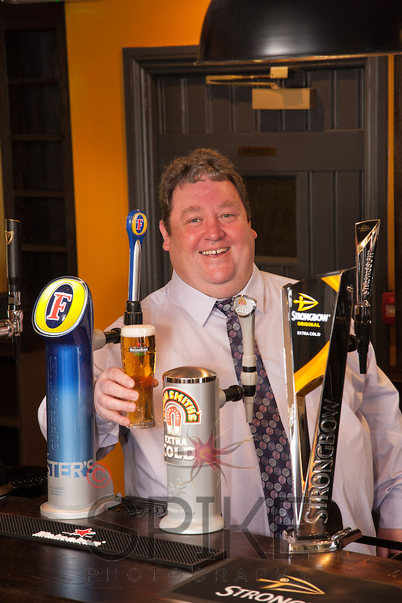 Mike Perry, Director of the newly refurbished Pear Tree pub in Keyworth