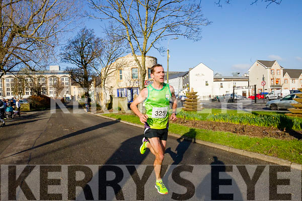 Tommy O'Brien,  pictured at the Kerry's Eye Valentines Weekend 10 mile road race on Sunday.