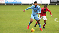 Christian N'Guessan of Burnley U23's in action during Charlton Athletic Under-23 vs Burnley Under-23, Professional Development League Football at Princes Park on 9th September 2019