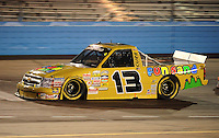 Nov. 13, 2009; Avondale, AZ, USA; NASCAR Camping World Truck Series driver Johnny Sauter during the Lucas Oil 150 at Phoenix International Raceway. Mandatory Credit: Mark J. Rebilas-