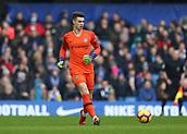 2nd February 2019, Stamford Bridge, London, England; EPL Premier League football, Chelsea versus Huddersfield Town; Goalkeeper Kepa Arrizabalaga of Chelsea