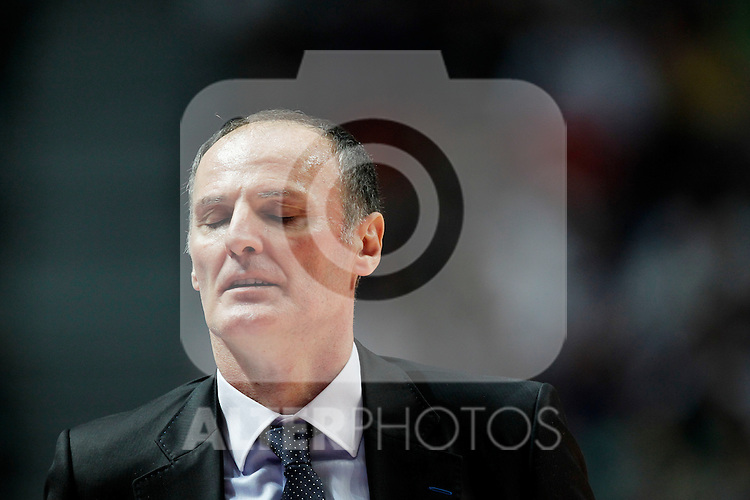 Madrid.- (10/02/2011).-LXXV COPA DE S.M. EL REY.FASE FINAL.Caja Laboral-Bizkaia Bilbao Basket .Dusko Ivanovic...©Alex Cid-Fuentes/AlfaquiFotografia