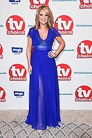 Charlotte Hawkins<br /> at the TV Choice Awards 2018, Dorchester Hotel, London<br /> <br /> ©Ash Knotek  D3428  10/09/2018