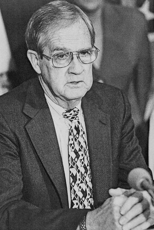 Rep. William F. Goodling, R-Pa. on Feb. 15, 1999. (Photo by Maureen Keating/CQ Roll Call)