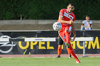 20190626 - OUDENAARDE , BELGIUM : Mouscron's (30) Benjamin Van Durmen pictured during a friendly game between KSV Oudenaarde and Royal Excelsior Mouscron Moeskroen during the preparations for the 2019-2020 season , Wednesday 26 June 2019 ,  PHOTO STIJN AUDOOREN | SPORTPIX.BE