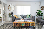 Home & Life Mag, My Place - Jenni Eyles from Styling Curvy at her home in Fulham , Photo :Nick Clayton.