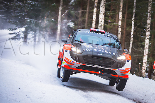 February 12th, 2017; Torsby, Sweden; WRC rally of Sweden; Ostberg
