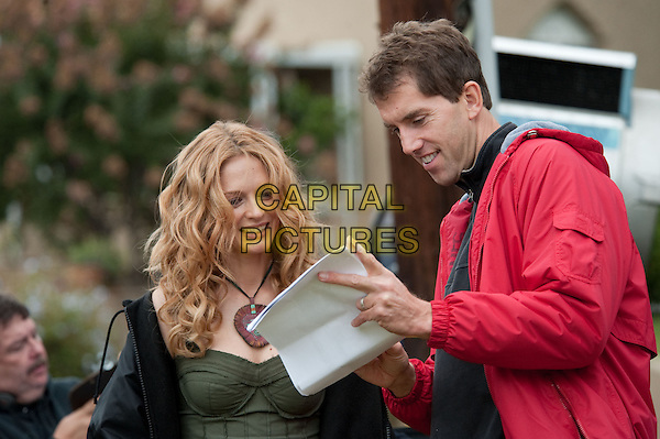 Heather Graham & director John Schultz .on the set of Judy Moody and the Not Bummer Summer.*Filmstill - Editorial Use Only*.CAP/FB.Supplied by Capital Pictures.