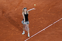 German tennis player Sabine Lisicki during Madrid Open Tennis 2014 match. May 08, 2014. (ALTERPHOTOS/Victor Blanco)