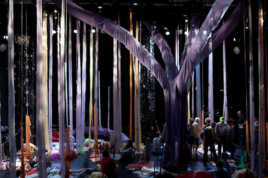PearlDamour + Shawn Hall: How to Build a Forest | The Kitchen | NY, NY | 2011