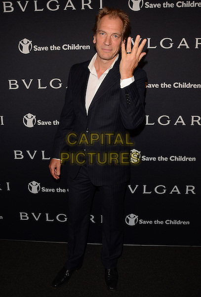 17 February 2015 - Beverly Hills, Ca - Julian Sands. BVLGARI and Save the Children launches Stop.Think.Give., a collection of celebrity portraits photographed by Fabrizio Ferri held at Spago. <br /> CAP/ADM/BT<br /> &copy;BT/ADM/Capital Pictures