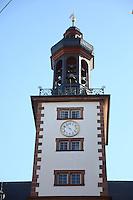 Außenansicht des Glockenturms im Residenzschloss