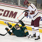 ?, Isaac MacLeod (BC - 7) - The Boston College Eagles defeated the University of Vermont Catamounts 4-1 on Friday, February 1, 2013, at Kelley Rink in Conte Forum in Chestnut Hill, Massachusetts.