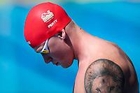 Picture by Alex Whitehead/SWpix.com - 08/04/2018 - Commonwealth Games - Swimming - Optus Aquatics Centre, Gold Coast, Australia - Adam Peaty of England competes in the Men's 50m Breaststroke heats.