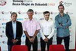 Presentacion II Trofeu iCrom Festa Major Sabadell 2012