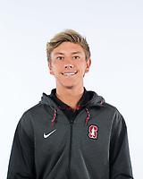 Stanford, Ca - October 10, 2017: The 2017-2018 Stanford Cardinal Men's Tennis Team