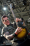 Keith Nelson of Buckcherry performs during the 2013 Rock On The Range festival at Columbus Crew Stadium in Columbus, Ohio.