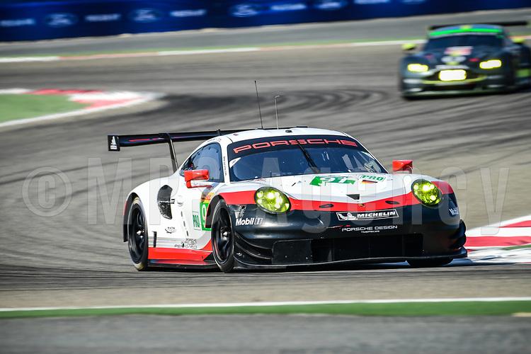 #91 PORSCHE GT TEAM (DEU) PORSCHE 911 RSR LMGTE PRO RICHARD LIETZ (AUT) FREDERIC MAKOWIECKI (FRA)