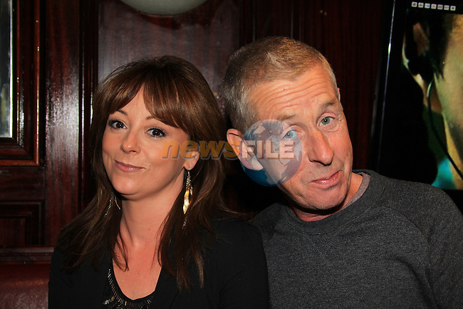Barry cummins <br /> Sinead cummins<br /> in Darby O'Gills<br /> Picture:  Fran Caffrey / www.newsfile.ie