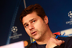 Tottenham Hotspur FC's coach Mauricio Pochettino in press conference before training session. October 16,2017.(ALTERPHOTOS/Acero)