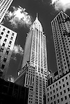 The Art Deco Chrysler Building in New York City
