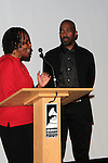 LOS ANGELES - JAN 28: Marcia Thomas, Ntare Guma Mbaho Mwine at the 30th Anniversary of 'We Are The World' at The GRAMMY Museum on January 28, 2015 in Los Angeles, California