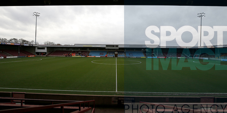 General view of the stadium - English League One - Scunthorpe Utd vs Sheffield Utd - Glandford Park Stadium - Scunthorpe - England - 19th December 2015 - Pic Simon Bellis/Sportimage