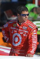 Mar 30, 2007; Martinsville, VA, USA; Nascar Nextel Cup Series driver Reed Sorenson (41) during qualifying for the Goody's Cool Orange 500 at Martinsville Speedway. Martinsville marks the second race for the new car of tomorrow. Mandatory Credit: Mark J. Rebilas