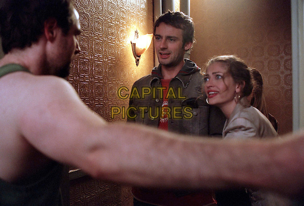 DEAD LIKE ME    TV SERIES, 2003.CALLUM BLUE.REBECCA GAYHEART.Filmstill - Editorial Use Only.Ref: FB.sales@capitalpictures.com.www.capitalpictures.com.Supplied by Capital Pictures.