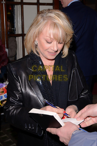 LONDON, UNITED KINGDOM - MARCH 18: Elaine Paige attends the Press Night for 'Blythe Spirit' at the Gielgud Theatre on March 18, 2014 in London, England.<br /> CAP/MB/PP<br /> &copy;Michael Ball/PP/Capital Pictures