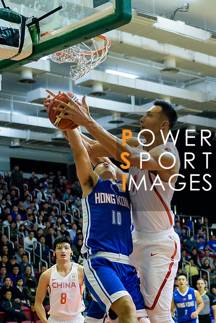 during the FIBA Basketball World Cup 2019 Asian Qualifier Group A match between Hong Kong and China at Southorn Stadium on February 26, 2018 in Hong Kong. Photo by Marcio Rodrigo Machado / Power Sport Images