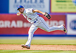 23 February 2013: New York Mets' infielder Omar Quintanilla in action during a Spring Training Game against the Washington Nationals at Tradition Field in Port St. Lucie, Florida. The Mets defeated the Nationals 5-3 in their Grapefruit League Opening Day game. Mandatory Credit: Ed Wolfstein Photo *** RAW (NEF) Image File Available ***
