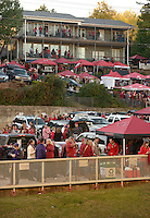 NWA Democrat-Gazette/BEN GOFF @NWABENGOFF<br /> Fans tailgate on Saturday Nov. 12, 2016 outside Razorback Stadium in Fayetteville before the Arkansas football game against LSU.