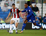 Paul Coutts of Sheffield Utd during the Championship match at the Cardiff City Stadium, Cardiff. Picture date: August 15th 2017. Picture credit should read: Simon Bellis/Sportimage