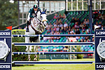 3rd Place. Marlon Modolo Zanotelli riding Isabeau De Laubry.  BRA. The Bunn Lesiure Salver. Jump off. Showjumping. Longines FEI Jumping Nations Cup of Great Britain at the BHS Royal International Horse Show. All England Jumping Course. Hickstead. Great Britain. 28/07/2018. ~ MANDATORY Credit Elli Birch/Sportinpictures - NO UNAUTHORISED USE - 07837 394578