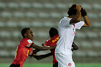 29th October 2019; Bezerrao Stadium, Brasilia, Distrito Federal, Brazil; FIFA U-17 World Cup Brazil 2019, Angola versus Canada; Gianfranco Facchineri of Canadá frustrated at the goal from David of Angola in the 94th minute, 2-1 - Editorial Use