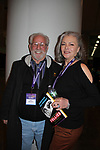 "Denise Pence ""Katie Parker"" on Guiding Light and her husband Steve Boockvor who were in the original Follies and met up with their original cast at Broadway Con 2018 at the Javits Center, New York City, New York on January 27, 2018. (Photo by Sue Coflin/Max Photo)"